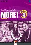 MORE! - ниво 4 (B1): Учебна тетрадка по английски език : Second Edition - Herbert Puchta, Jeff Stranks, Gunter Gerngross, Christian Holzmann, Peter Lewis-Jones - продукт
