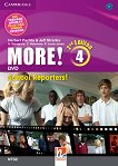 MORE! - ниво 4 (B1): School Reporters DVD по английски език : Second Edition - Herbert Puchta, Jeff Stranks, Gunter Gerngross, Christian Holzmann, Peter Lewis-Jones -