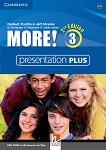 MORE! - Ниво 3 (A2 - B1): Presentation Plus - DVD Учебна система по английски език - Second Edition -