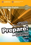 Prepare! - ниво 1 (A1): Книга за учителя по английски език с онлайн материали + DVD : First Edition - Kathryn Davies, Dean Holdsworth, Annette Capel -