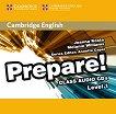 Prepare! - ниво 1 (A1): 2 CD с аудиоматериали по английски език : First Edition - Joanna Kosta, Melanie Wiliams, Annette Capel -