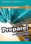 Prepare! - ниво 2 (A2): Книга за учителя по английски език с онлайн материали + DVD : First Edition - Emma Heyderman, Annette Capel -