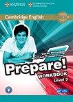 Prepare! - ниво 3 (A2): Учебна тетрадка по аглийски език с онлайн аудиоматериали : First Edition - Garan Holcombe, Annette Capel - продукт