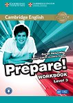 Prepare! - ниво 3 (A2): Учебна тетрадка по аглийски език с онлайн аудиоматериали : First Edition - Garan Holcombe, Annette Capel -
