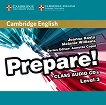 Prepare! - ниво 3 (A2): 2 CD с аудиоматериали по английски език : First Edition - Joanna Kosta, Melanie Williams, Annette Capel -