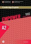 Empower - Elementary (A2): Учебна тетрадка по английски език + онлайн аудиоматериали - Peter Anderson - продукт