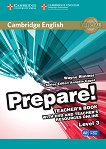 Prepare! - ниво 3 (A2): Книга за учителя по английски език с онлайн материали + DVD : First Edition - Wayne Rimmer, Annette Capel -