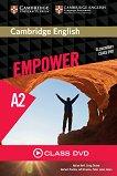 Empower - Elementary (A2): Class DVD с видеоматериали по английски език -