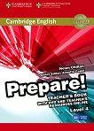 Prepare! - ниво 4 (B1): Книга за учителя по английски език + DVD : First Edition - Helen Chilton, Annette Capel -