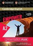 Empower - Elementary (A2): Presentation Plus DVD-ROM с материали за учителя по английски език - Adrian Doff, Craig Thaine, Herbert Puchta, Jeff Stranks, Peter Lewis-Jones -