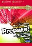 Prepare! - Ниво 5 (B1): Книга за учителя + DVD : Учебна система по английски език - First Edition - Annie McDonald, Annette Capel -
