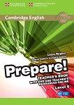 Prepare! - ниво 6 (B1- B2): Книга за учителя по английски език + DVD : First Edition - Louis Rogers, Annette Capel -