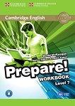 Prepare! - ниво 7 (B2): Учебна тетрадка по английски език + онлайн аудиоматериали : First Edition - David McKeegan, Annette Capel -