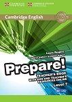 Prepare! - ниво 7 (B2): Книга за учителя по английски език + DVD : First Edition - Louis Rogers, Annette Capel -