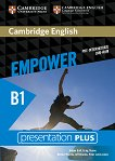 Empower - Pre-Intermediate (B1): Presentation Plus DVD-ROM с материали за учителя по английски език - учебна тетрадка
