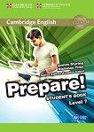Prepare! - ниво 7 (B2): Учебник по английски език First Edition - учебна тетрадка