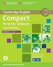 Compact First for Schools - Upper Intermediate (B2): Учебна тетрадка Учебна система по английски език - Second Edition -