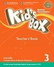 Kid's Box - ниво 3: Книга за учителя по английски език Updated Second Edition - учебник