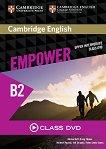 Empower - Upper Intermediate (B2): Class DVD с видеоматериали по английски език - Adrian Doff, Craig Thaine, Herbert Puchta, Jeff Stranks, Peter Lewis-Jones -