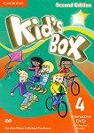 Kid's Box - Ниво 4: Интерактивно DVD + материали за учителя Учебна система по английски език - Second Edition -