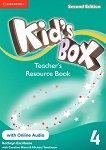 Kid's Box - Ниво 4: Книга за учителя с допълнителни материали Учебна система по английски език - Second Edition - книга за учителя