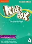 Kid's Box - Ниво 4: Книга за учителя Учебна система по английски език - Second Edition - книга за учителя