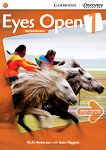Eyes Open - ниво 1 (A1): Учебна тетрадка по английски език - Vicki Anderson, Eoin Higgins - учебна тетрадка
