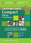 Compact First - ниво B2: Presentation Plus : Учебен курс по английски език - Second Edition - Peter May -