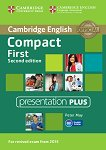 Compact First - Upper Intermediate (B2): Presentation Plus : Учебен курс по английски език - Second Edition - Peter May -