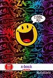 Ученически тетрадки - Усмивки - Комплект от 2 броя с формат A4 - тетрадка