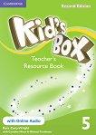 Kid's Box - Ниво 5: Kнига за учителя с допълнителни материали Учебна система по английски език - Second Edition -