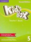 Kid's Box - Ниво 5: Kнига за учителя Учебна система по английски език - Second Edition - книга за учителя