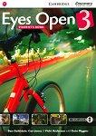 Eyes Open - ниво 3 (B1): Учебник по английски език - учебна тетрадка