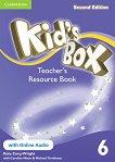 Kid's Box - Ниво 6: Kнига за учителя с допълнителни материали Учебна система по английски език - Second Edition -