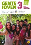 Gente Joven - Ниво 3 (A2+): Учебник + CD : Учебна система по испански език - Nueva Edicion - Encina Alonso Arija, Matilde Martinez Salles, Neus Sans Baulenas -