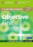 Objective - First (B2): Presentation Plus - DVD Учебен курс по английски език - Fourth edition -