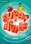 Super Minds - ниво 3 (A1): Presentation Plus - DVD по английски език - Herbert Puchta, Gunter Gerngross, Peter Lewis-Jones -
