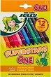Флумастери - Superstars One - Комплект от 12 и 24 цвята -