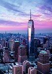 Ученическа тетрадка - Световен търговски център - Формат A5 -