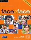 face2face - Starter (A1): Student's Book Pack : Учебна система по английски език - Second Edition - Chris Redston, Gillie Cunningham -