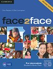 face2face - Pre-intermediate (B1): Student's Book Pack Учебна система по английски език - Second Edition - учебник