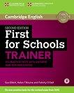 Cambridge English First for Schools - High Intermediate (B2): Помагало с 6 практически теста по английски език за международния изпит FCE - Second Edition -