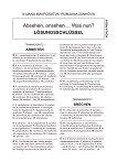 Absehen, ansehen... Was nun? - приложение с отговори - Ilijana Mavrodieva, Rumjana Jankova - книга за учителя