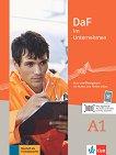 DaF im Unternehmen - ниво A1: Комплект от учебник и учебна тетрадка по бизнес немски език + онлайн материали -