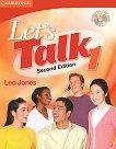 Let's Talk - Ниво 1: Учебник + CD : Учебна систсема по английски език - Second Edition - Leo Jones -