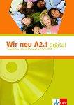 Wir Neu - Ниво A2.1: Интерактивна версия на учебника - DVD-ROM : Учебна система по немски език -