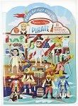 Pirate - книжка с кукли за обличане + 51 стикера -
