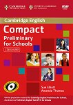 Compact Preliminary for Schools - Ниво B1: Classware - CD-ROM + DVD-ROM : Учебен курс по английски език - Sue Elliott, Amanda Thomas -