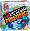 На риболов с кафе еспресо - Състезателна игра със зарове -