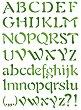Шаблон - Азбука и знаци - Размери 21 x 29.7 cm